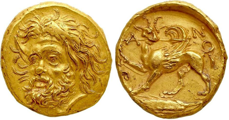 Золотой статер продать монету пятьдесят лет советской власти